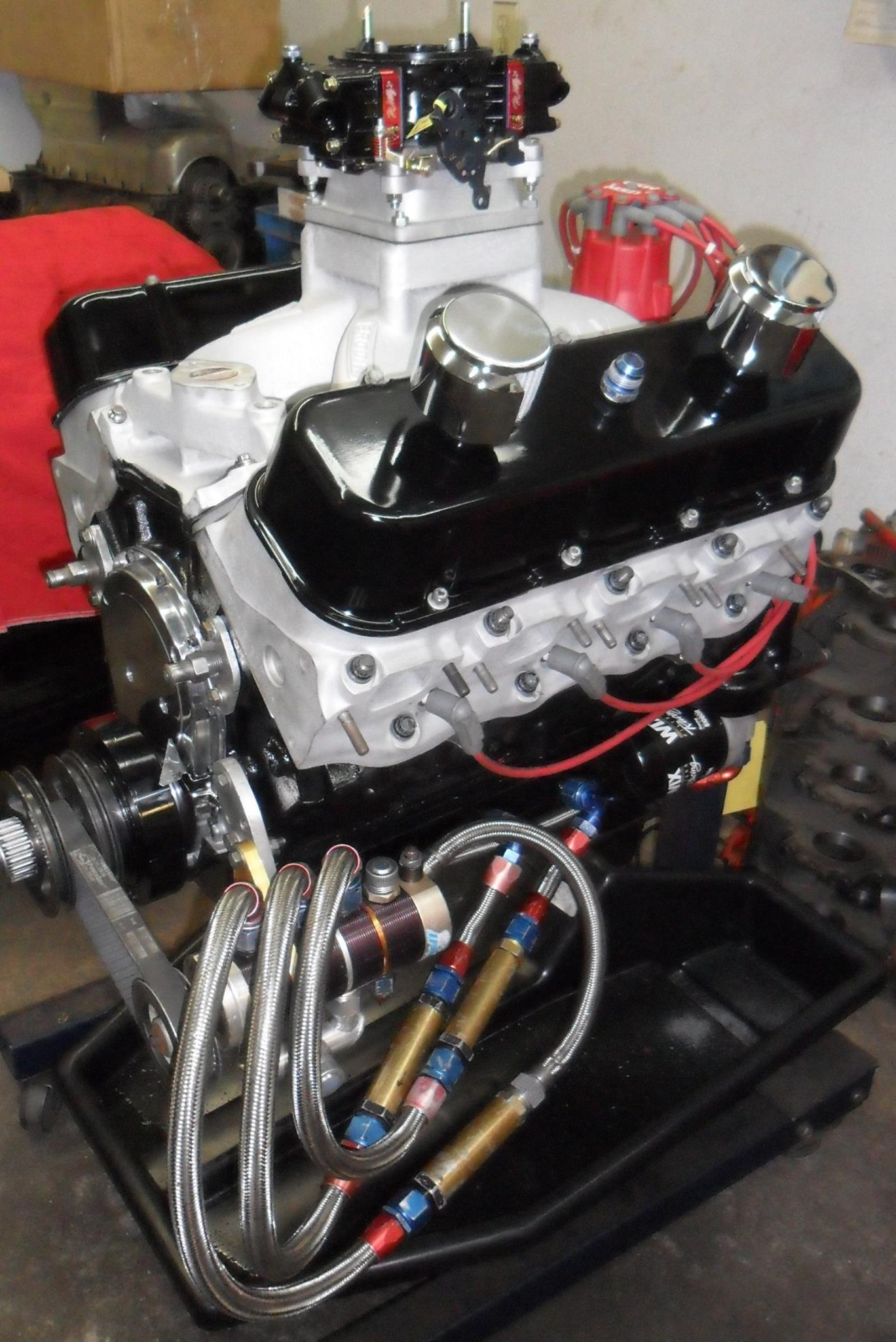 Hydroplane Dry Sump 468 BB Chevy