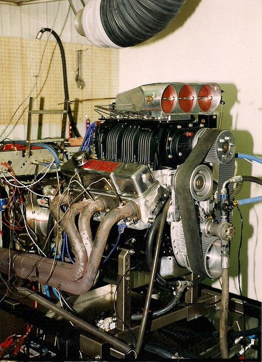 Blown SB Chevy 378 CID 1100+ HP